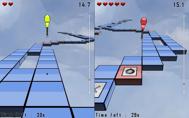 Futur mode deux joueurs de Battle Jump