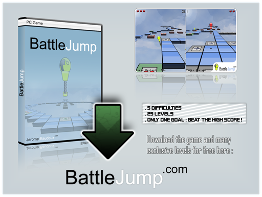 Battle Jump is a free 3D platform game.