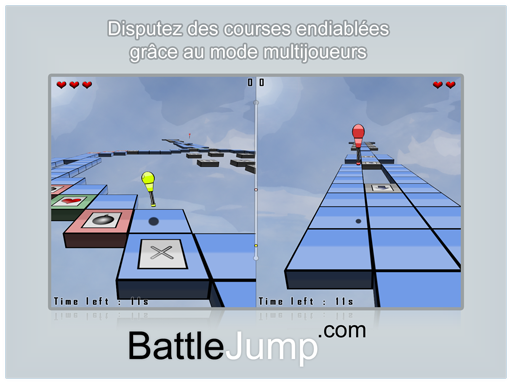 Battle Jump mode multijoueurs.